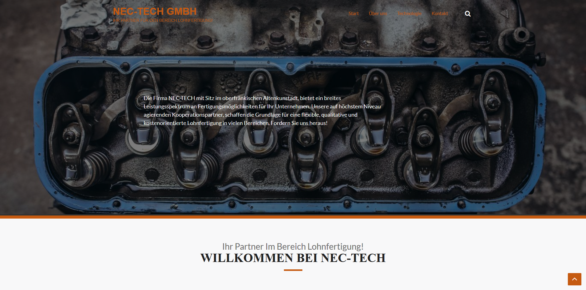 NEC-TECH Website